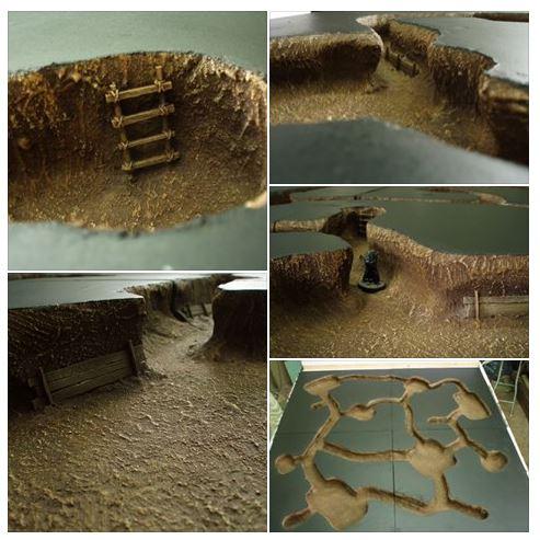 L'enfer du devoir : la guerre des tunnels (28mm Vietnam) 13.40