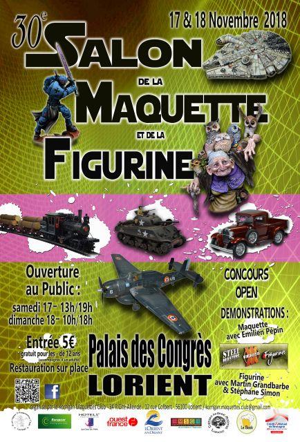 30ème Salon de la Maquette et de la Figurine de LORIENT -  17 & 18 Novembre 2018 15.0