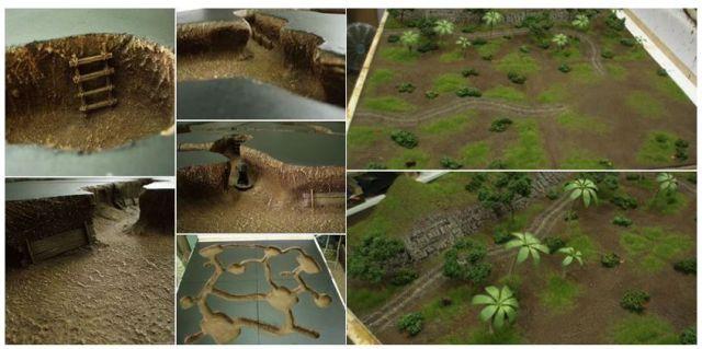 L'enfer du devoir : la guerre des tunnels (28mm Vietnam) 02.63