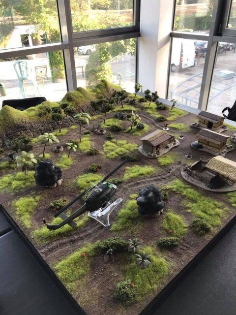 L'enfer du devoir : la guerre des tunnels (28mm Vietnam) 29.75