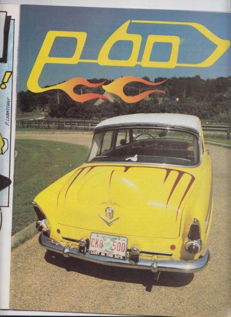 """P60 Simca KUSTOM """"UpSiDeDoWn"""" 16.12"""
