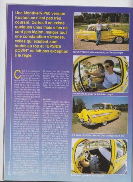 """P60 Simca KUSTOM """"UpSiDeDoWn"""" 16.13"""
